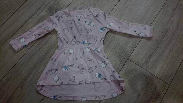 Sukienki dla dziewczynki 80