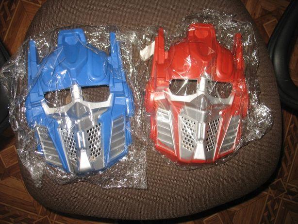 маски роботов трансвормеров одним лотом маска трансформер