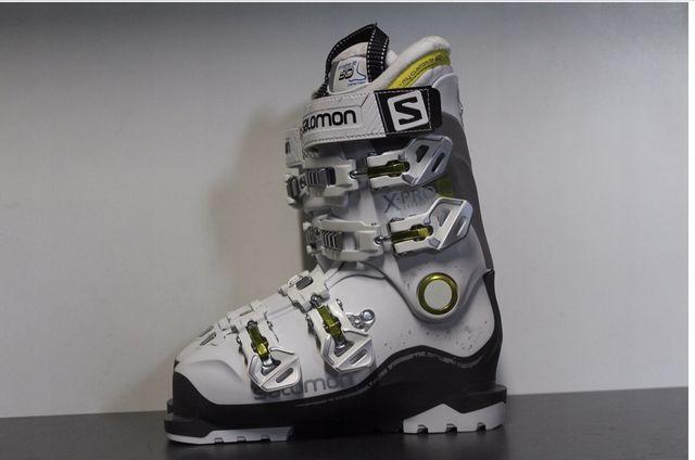 Buty narciarskie damskie SALOMON X PRO 80W rozm. 25 (39, 25,5cm) białe