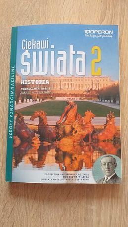 Ciekawi Świata 2 Historia Podręcznik cz 1 rozszerzony