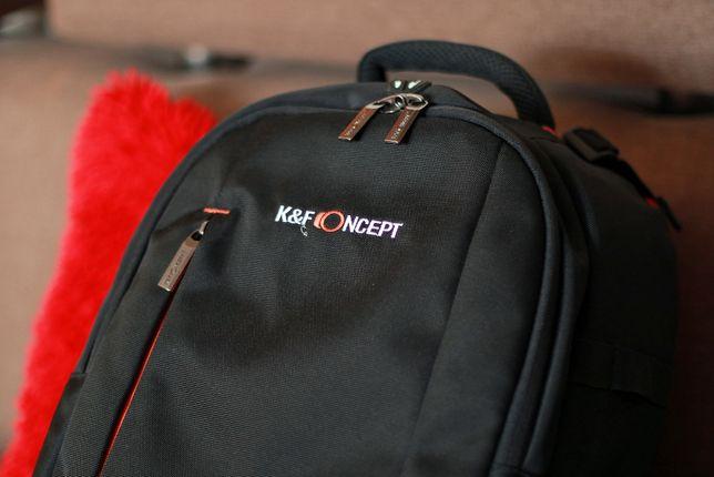 Duży solidny pojemny i wygodny plecak dla fotografa K&F Concept NOWY!