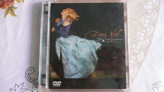DIANA KRALL when i look in your eyes DVD AUDIO USA płyta kompaktowa cd