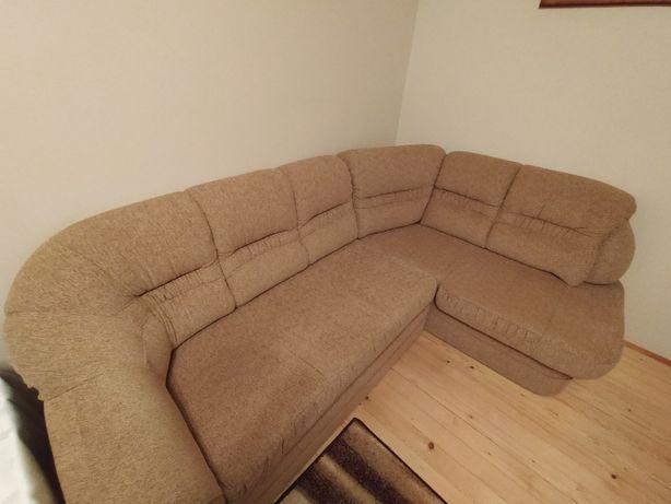 Komplet wypoczynkowy - kanapa narożna