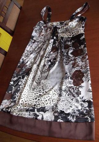Sukienka ciążowa na ramiączkach roz. 38 jak nowa CIĄŻA
