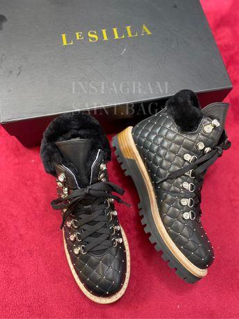 Ботинки сапожки Le Silla натуральная кожа