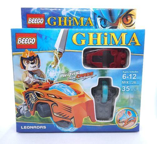 Klocki takie jak LEGO Chima