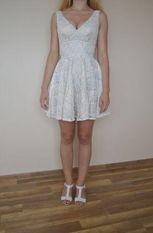 Sukienka koronkowa ASOS S