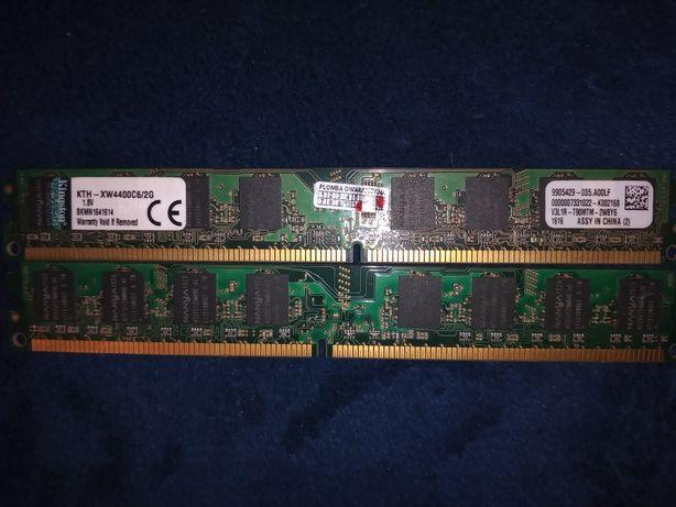 Ram DDR2 4GB w 2 kościach Kingston