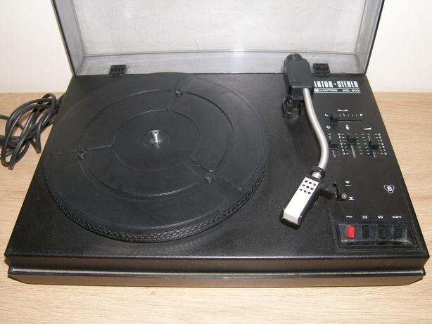Unitra WG-903 gramofon PRL stare