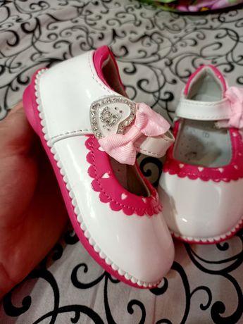 Детские туфельки 15 см стелька