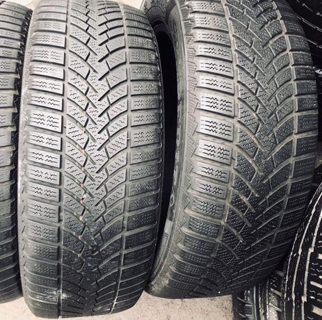 Semperit 205/55r16 2 шт зима шины б/у склад