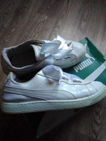 Кроссовки белые Puma