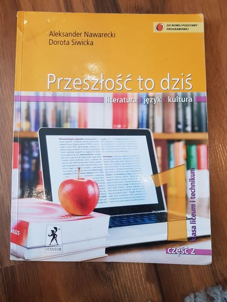 Podręcznik do języka polskiego Przeszłość to dziś 1 cz. 2