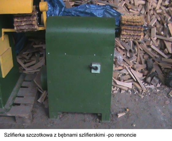 szlifierka szczotkowa, możliwość postarzania drewna !!!