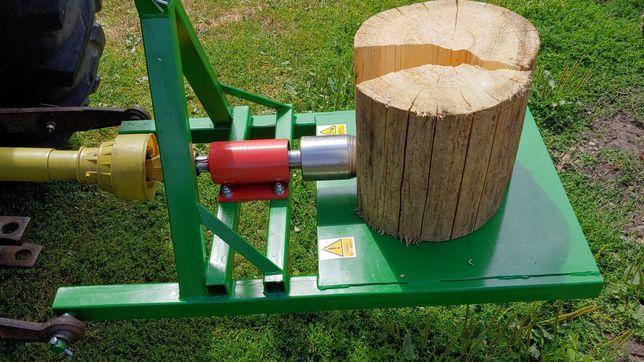 Łuparka swidrowa wom traktor ciagnik swider fi100 wymienna końcowka