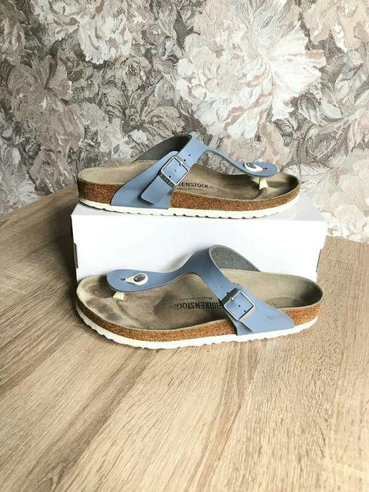 Birkenstock 40-40,5 р шлепки босоножки сандалии шльопанці. Новый Роздол - изображение 1