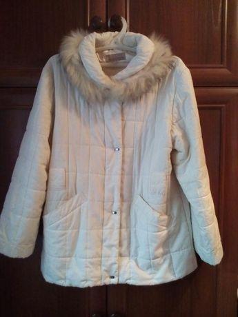 Куртка с натуральным съемным мехом Wildflower 50-52