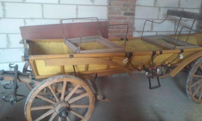 Sprzedam wóz żelazny z wasągiem
