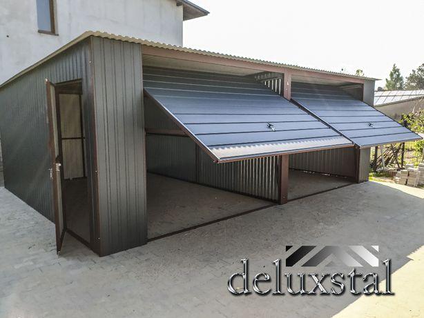 Garaze blaszane garaz blaszany wiaty Hale w 3x5,6x5,6x6,7x5