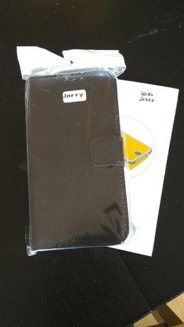 NOVA - Wiko Jerry - Capa Pele / Flip Cover + OFERTA (2 Peliculas)