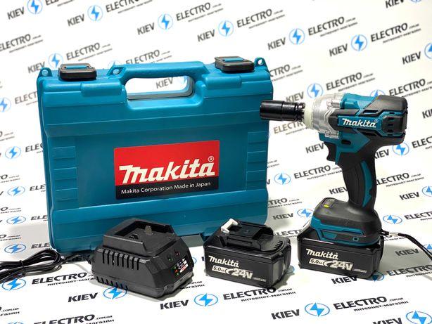 Гайковерт аккумуляторный ударный безщеточный Makita DTW 285 (24V/5А)