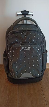 Plecak szkolny na kółkach Paso