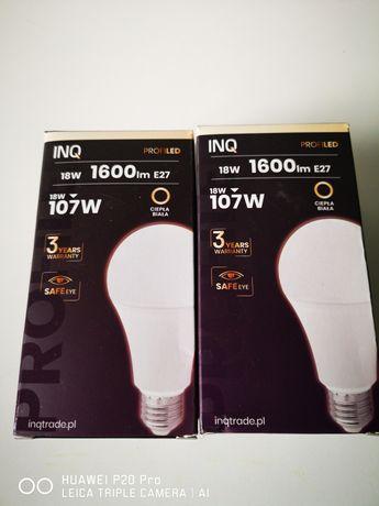 Żarówki LED 18W, 2 szt.