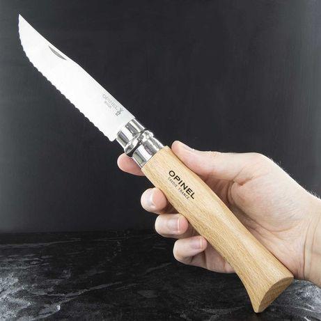 Зубчатый Складной Нож Opinel (Опинель) No.12 (002441) Нержавейка