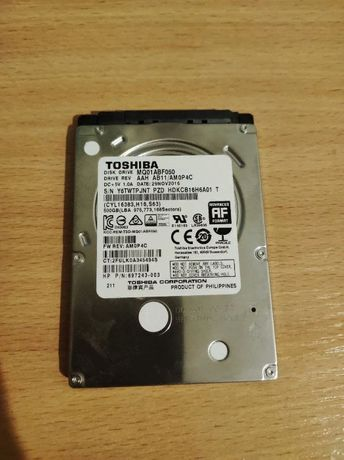 Жесткий диск для ноутбука 500 Gb HDD 2.5 TOSHIBA