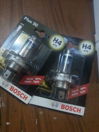 Лампа галогенная( Пара ) Bosch Plus 90  (H4)