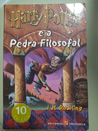 Harry Potter e a Pedra Filosofal - 10 edição