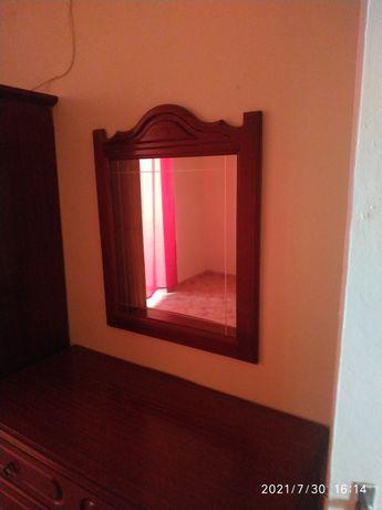 Mobília quarto casal completa com colchão e estrado sem entrega