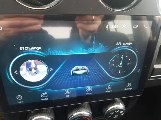 Авто магнитола Android экран монитор jeep compass джип компас патриот