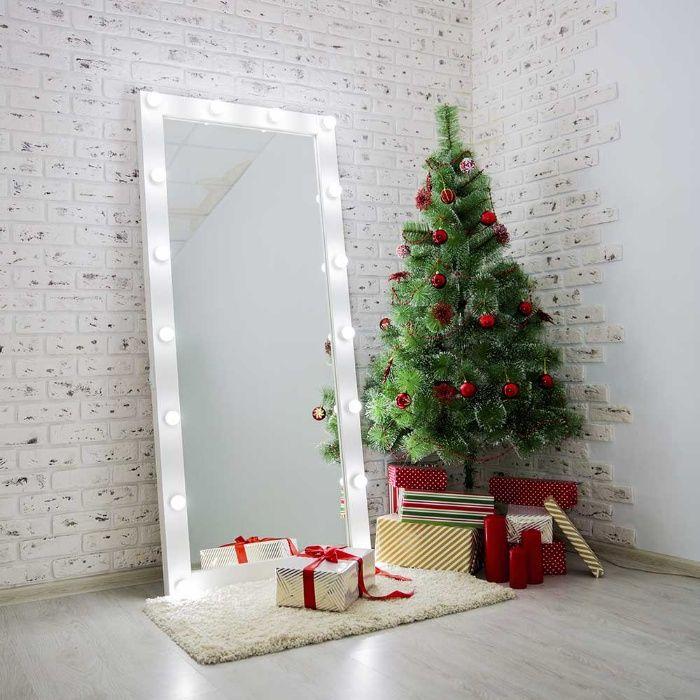 В НАЛИЧИИ Гримерное зеркало с лампами, зеркало в полный рост. Харьков - изображение 1
