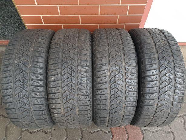 Opony używane zimowe 205/50/17 Pirelli Sottozero III 550zł/4szt.