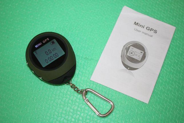 мини GPS трекер брелок (tracker) на 16 POI точек. Міні трекер USB