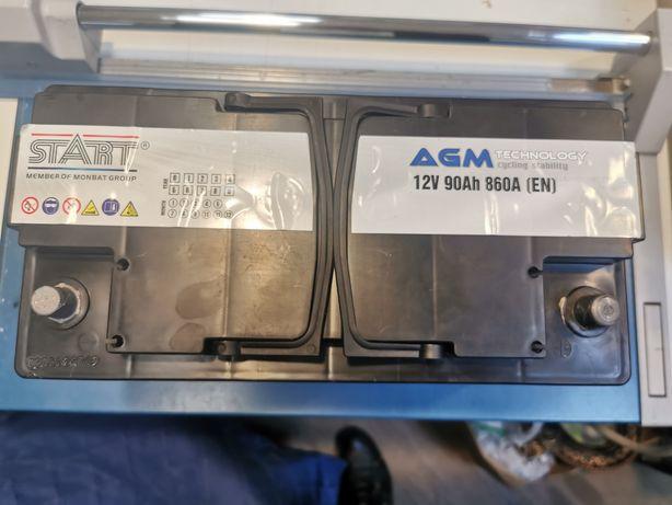Аккумулятор AGM Start Ultimate 90AH R+ 860А