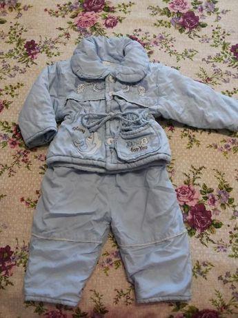 Демисезонный, демісезонний костюм, 62-74см