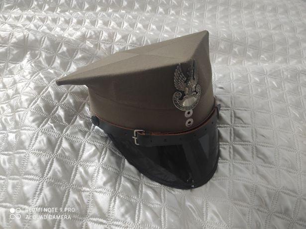 czapka rogatywka wojsk lądowych stary wzór giżycko wojsko mundur