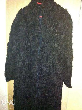futro czarne karakuły 48-50