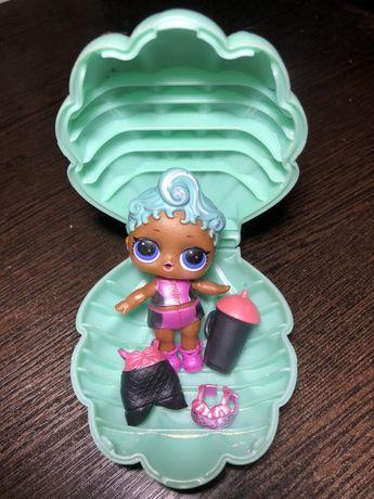 Кукла Лол жемчужный шар L.O.L. Surprise Pearl русалка ракушка