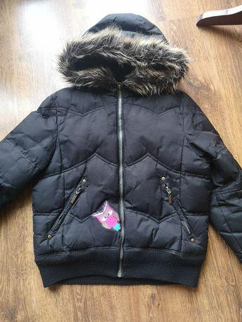 Śliczna kurtka zimowa dla dziecka ok 134 cm