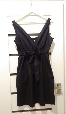 Czarna letnia sukienka NEXT rozm. 42