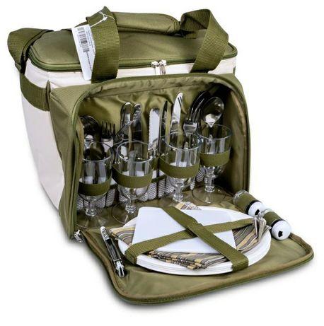 Набор посуды для пикника термо сумка Ranger Lawn