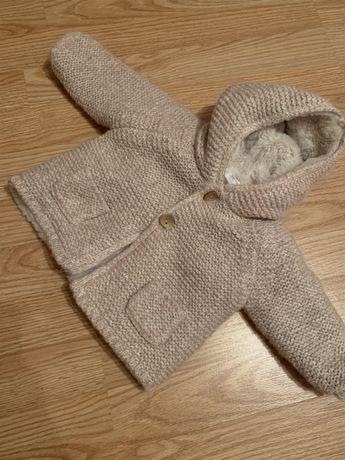 Пальто Zara для девочки 3-6 месяцев
