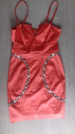 sukienka z kamieniami S