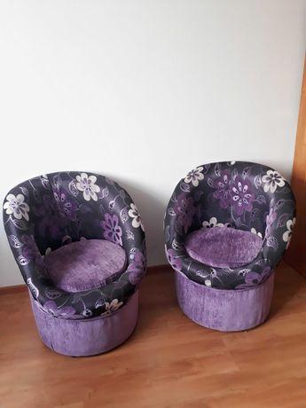 Dwa fotele ze schowkami
