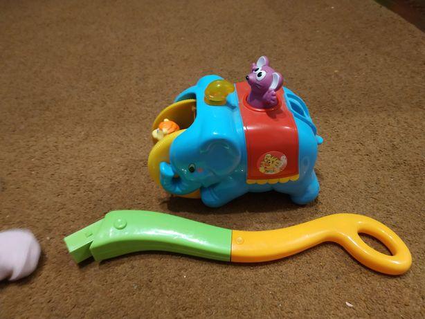 Слон-циркач kiddieland толкалка каталка