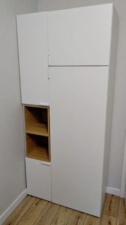 Szafa 2-drzwiowa Vox 4-You - kolor biały, transport