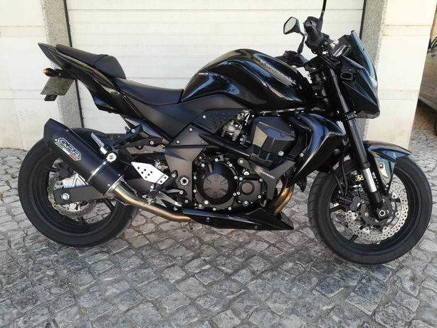 Kawasaki Z750 black